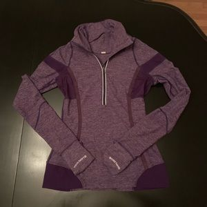 Lululemon Cool Hands Warm Heart purple pullover 4